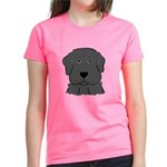 Fun Black Lab Dog Women's Dark T-Shirt