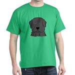 Fun Black Lab Dog Dark T-Shirt