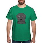 Fun Black Lab Dog Dark T-Shirt
