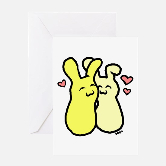 Luv Buns Greeting Card
