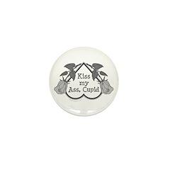 Anti-Cupid Mini Button (100 pack)