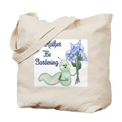 Gardening Caterpillar Tote Bag