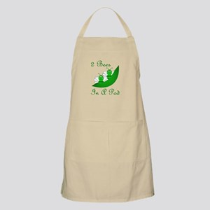 Two Bees In A Pod BBQ Apron