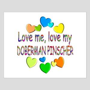 Doberman Small Poster