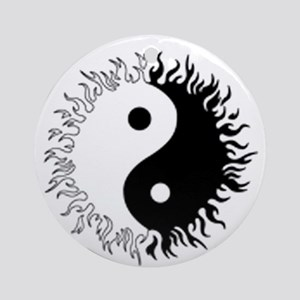 Ying yang Ornament (Round)