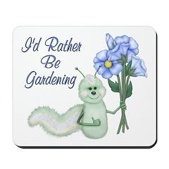 Gardening Caterpillar Mousepad