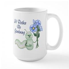 Gardening Caterpillar Large Mug