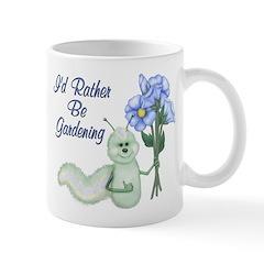 Gardening Caterpillar Mug