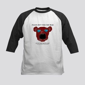Don't Feed This Bear #3 Kids Baseball Jersey