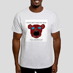 Don't Feed This Bear #3 Light T-Shirt