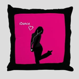 iDance Throw Pillow