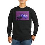 AFBPedalCarPurplePilot Long Sleeve T-Shirt