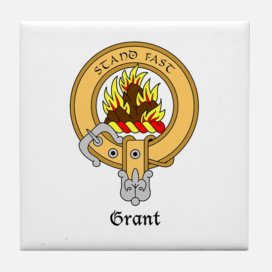 Grant Tile Coaster