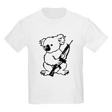 Koala (Black) Kids Light T-Shirt