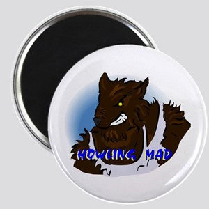 Howling Mad Werewolf Magnets