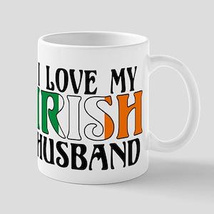 I Love My Irish Husband Mug