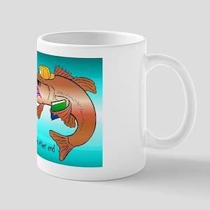 Funny fishing t-shirt Mug