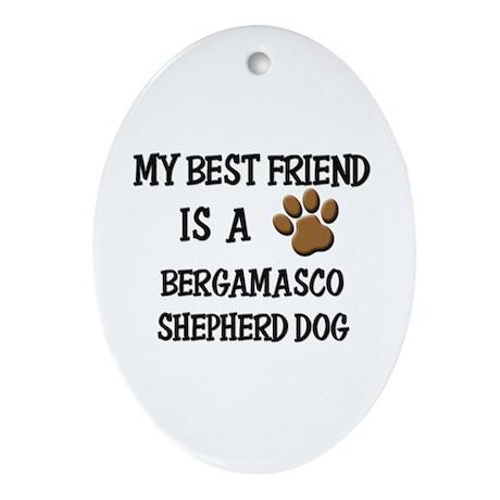 My best friend is a BERGAMASCO SHEPHERD DOG Orname