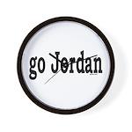 go Jordan Wall Clock
