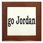 go Jordan Framed Tile
