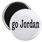 go Jordan Magnet