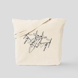 Trombone Jet Light Tote Bag