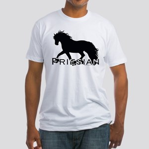 Friesian Horse Fitted T-Shirt