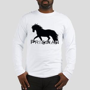 Friesian Horse Long Sleeve T-Shirt