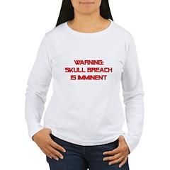 Warning: Skull Breach T-Shirt