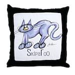 SkipaRoo Throw Pillow