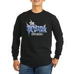 Bronx Graffiti Long Sleeve Dark T-Shirt