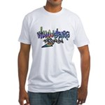 Williamsburg Graffiti Fitted T-Shirt