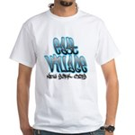 East Village Graffiti White T-Shirt