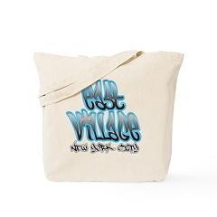 East Village Graffiti Tote Bag