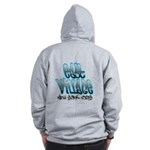 East Village Graffiti Zip Hoodie