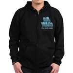 East Village Graffiti Zip Hoodie (dark)