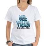 East Village Graffiti Women's V-Neck T-Shirt