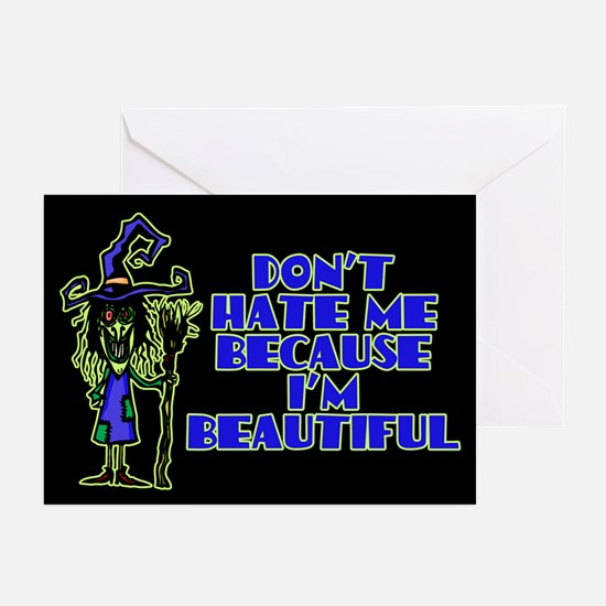 Don't Hate Me Greeting Cards (Pk of 10)