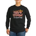 Hell's Kitchen Graffiti Long Sleeve Dark T-Shirt