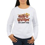 Hell's Kitchen Graffiti Women's Long Sleeve T-Shir