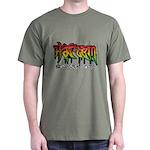 Harlem Graffiti Dark T-Shirt