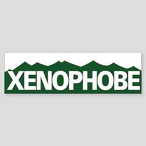 XENOPHOBE Bumper Sticker