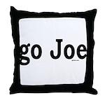go Joe Throw Pillow