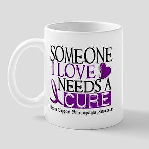 Needs A Cure FIBROMYALGIA Mug