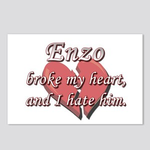 Enzo broke my heart and I hate him Postcards (Pack