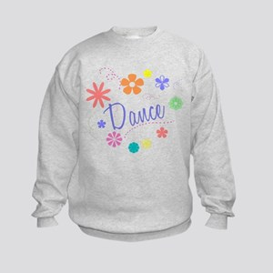 Dance Flowers Kids Sweatshirt