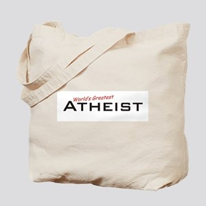 Great Atheist Tote Bag