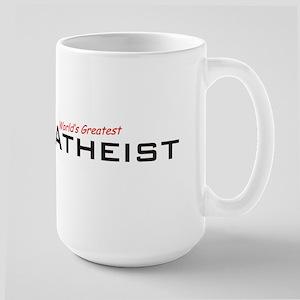 Great Atheist Large Mug