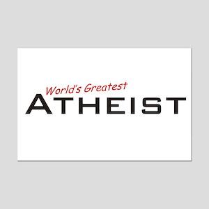 Great Atheist Mini Poster Print