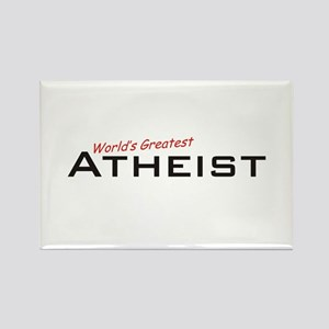 Great Atheist Rectangle Magnet